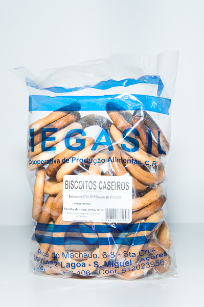 Biscoitos Caseiros Megasil