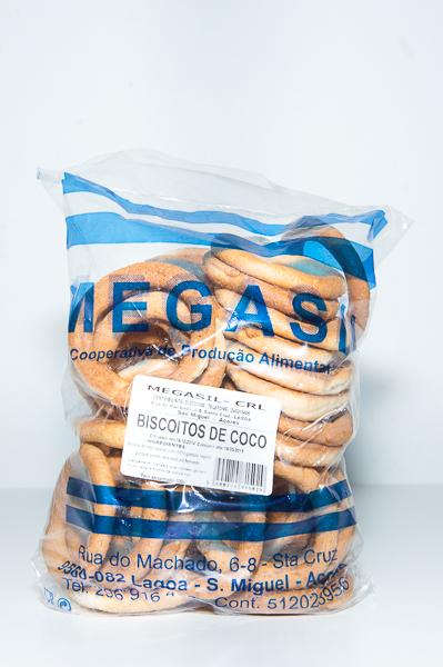 Biscoitos de Côco Megasil