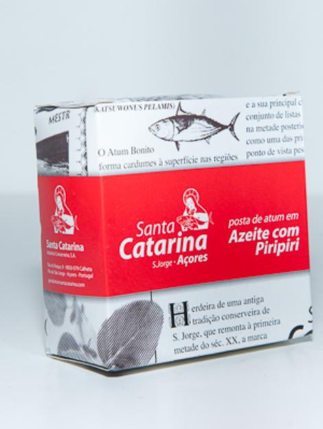 Posta de Atum em azeite com pripiri Santa Catarina