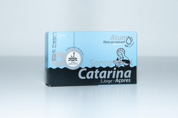 Filete atum ao natural Santa Catarina