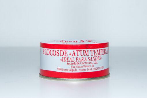 Flocos de Atum Temperado 190g