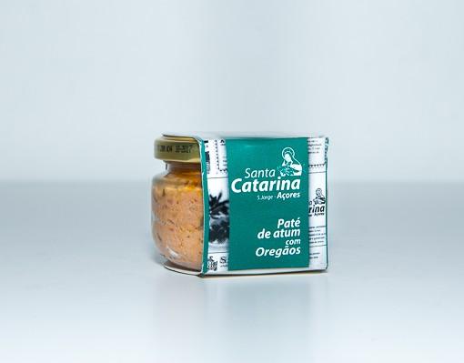 Paté de Atum com Oregãos Santa Catarina