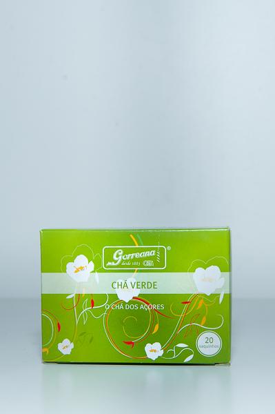 Tea Bags Verde Gorreana c/20 saquetas