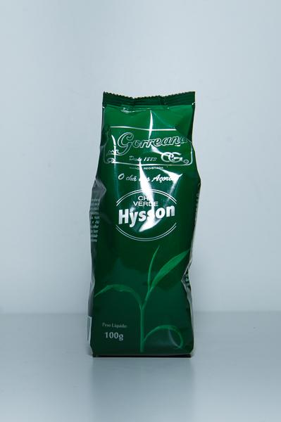 Chá Hysson Verde Gorreana