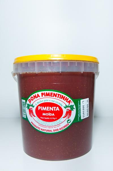Balde de Pimenta 4.3kg