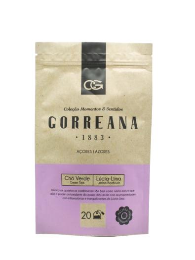 Chá Verde com Lucia Lima - Gorreana em saquetas