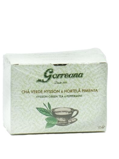 Chá Verde & Hortelã e Pimenta 20 Saquetas - Gorreana
