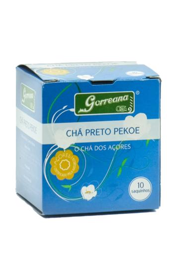 Chá Gorreana Preto Tea Bags 10 saquetas - São Miguel - Açores