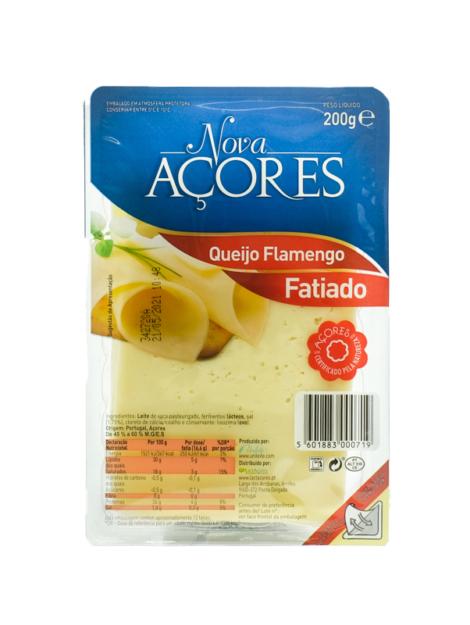 queijo flamengo Nova Açores