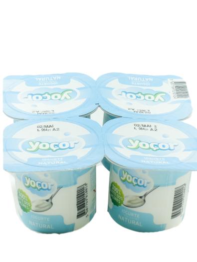 Iogurte sólido Natural Pack4 – Yoçor