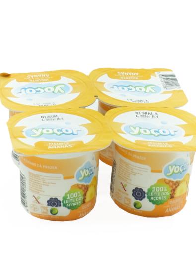 Iogurte sólido de Ananás Pack4 – Yoçor