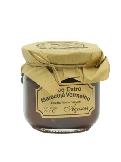Compota Extra de Maracujá Vermelho Frutaçor - São Miguel - Açores
