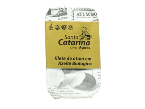Filete de atum em azeite biológico – Santa Catarina – São Jorge – Açores