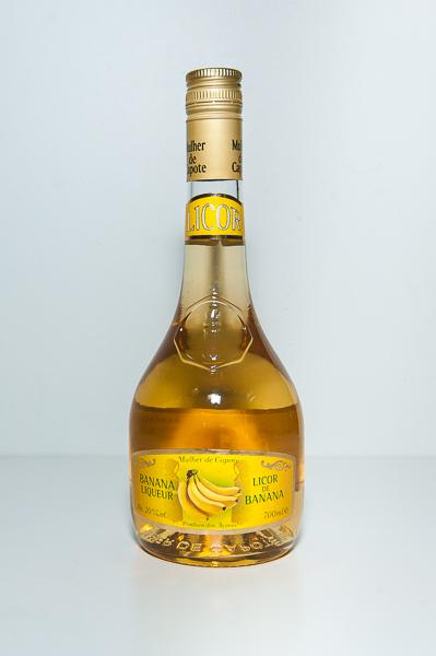 Licor Banana Mulher de Capote