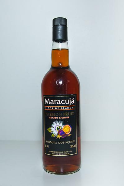 Licor Brandy de Maracujá 1L