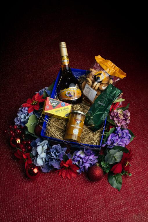 Cabaz natal 25€ licor